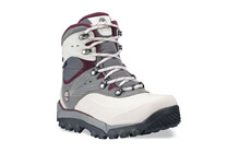 Timberland Women's Rime Ridge Mid Lace Waterproof grey/burgundy